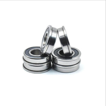 100pcs Flange Bearing F695-2RS F695RS F695 2RS 5x13x4 mm Rubber Sealed flanged deep groove ball bearings 5*13*4 mm