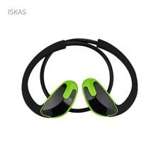 ISKAS Headset Bluetooth Håndfri Ørepropper Trådløs Bluetooth Mobiltelefoner Musikk Elektronikk Bass Musikk Telefon Trådløs God Ny
