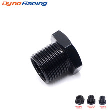 New Aluminum Car Auto Oil Filter Threaded Adapter Size 5/8-24 to 13/16-16 3/4-16 3/4 NPT Automotive Thread Screw Mount Black