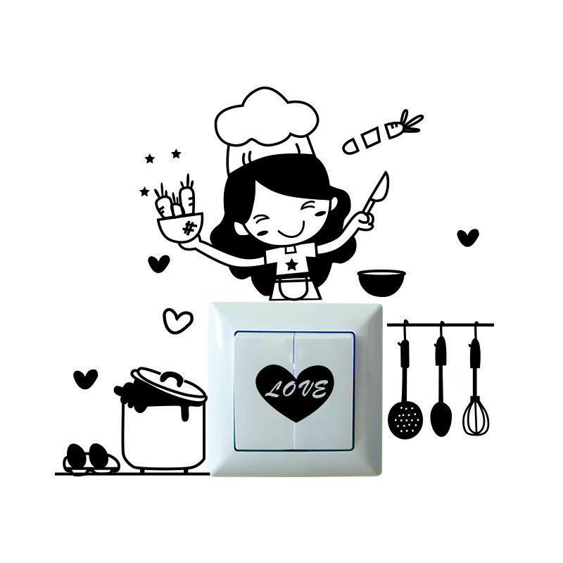 HTB1CsjQOFXXXXc apXXq6xXFXXX4 - Warmly Decorated Waterproof Wall Stickers For Kitchen