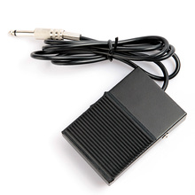 One Square Black Iron Tattoo Foot Pedal Switch For Controller Power Supply TFS01#