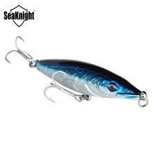 SeaKnight SK054 Floating Pencil Fishing Lure 16g 110mm Topwater 1PC Hard Fishing Bait Mustad Hooks Long Casting Fishing Tackle