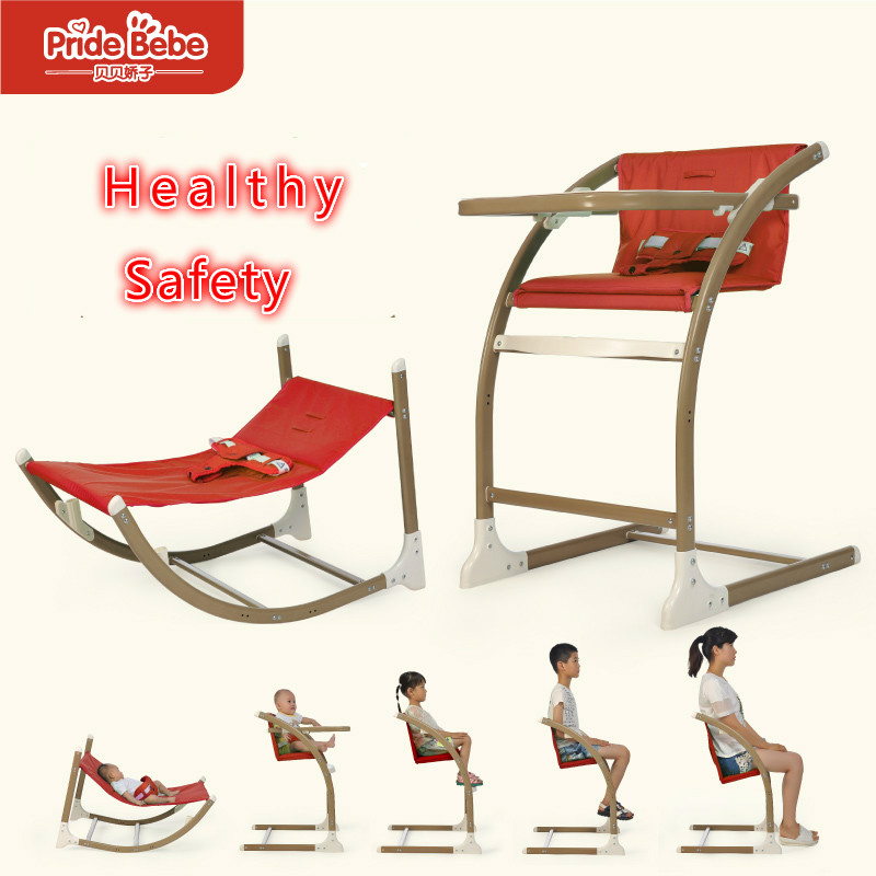 New Fashion Strong Baby Child Dining Chair With Plate Infant High