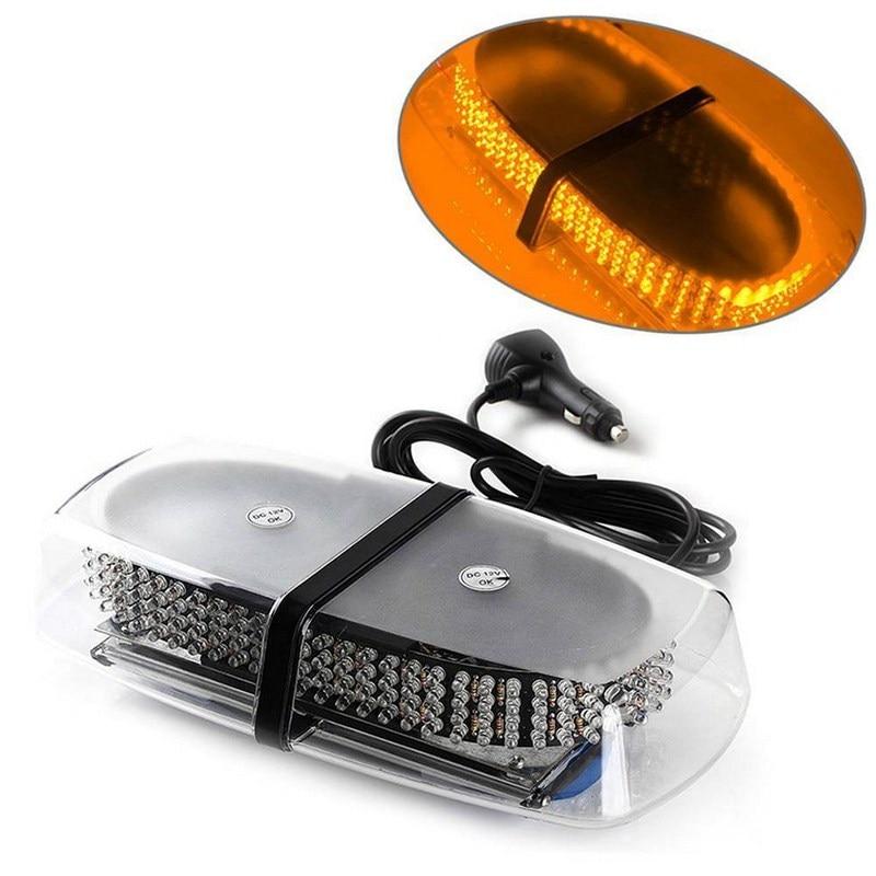 1 pcs 240 LED Strobe Running lights Auto Accessories Yellow Flashing Strobe Emergency Light Police Beacons