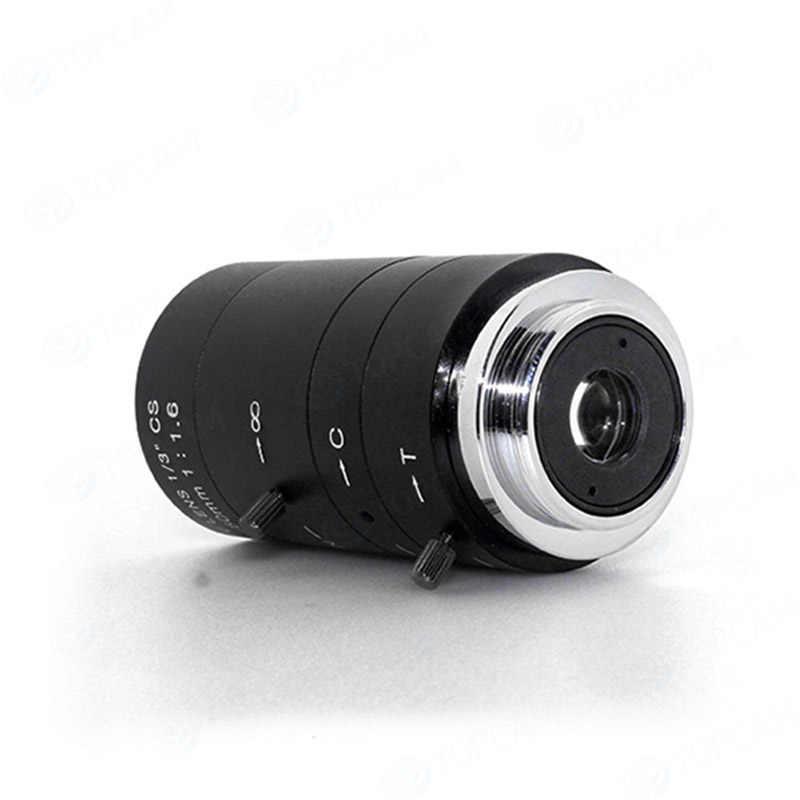 """Miễn phí Vận Chuyển 6-60mm 1/3 """"CS Lens CCTV Ống Kính IR F1.6 Manual Zoom Tay Iris cho IP CCTV CCD Máy Ảnh"""