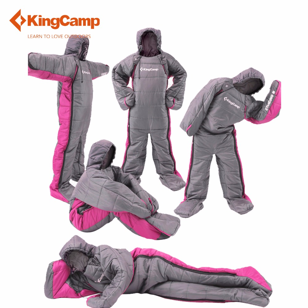 KingCamp Sleeping Bag 17065 Comfortable Humanoid Outdoor Camping Lazy Winter Backpacking Travel Hiking In Bags From Sports