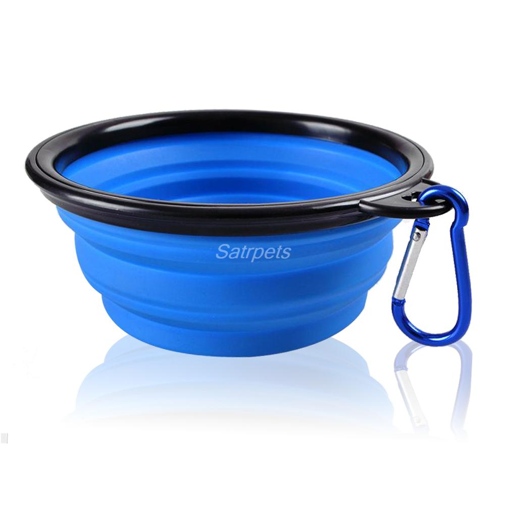 Portable Dog Water Bowls Bowl For Large Breed Dogs Premium: Silicone Collapsible Feeding Bowl Dog Water Dish Cat
