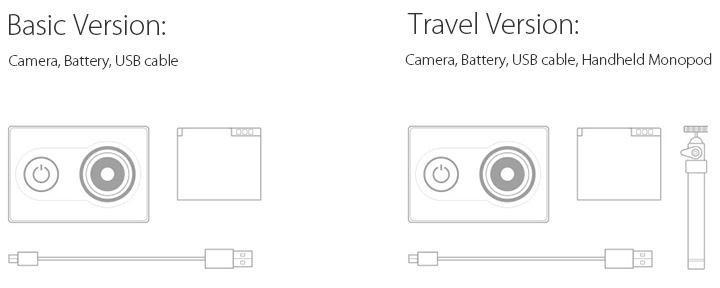 Xiaomi Xiaoyi WiFi Action Camera 16MP 60FPS Ambarella 184850 15