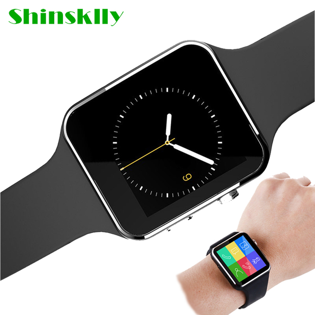 Bluetooth Smart Watch Men X6 With Camera relogio inteligente Support TF Sim Card Whatsapp clock for Android Phone smart watches