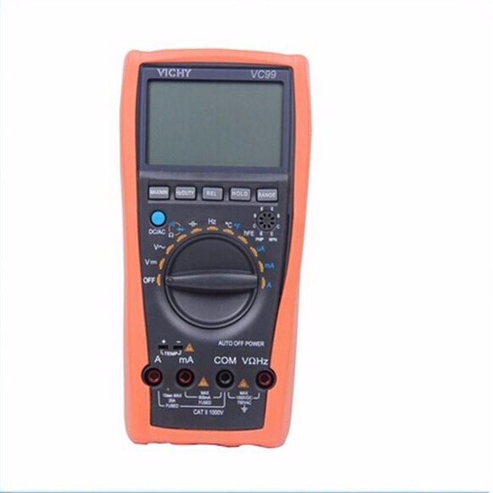 ФОТО VICI VC99 3 6/7 6000 Counts Auto Range Resistance Capacitance Temperature Frequency Digital Multimeter