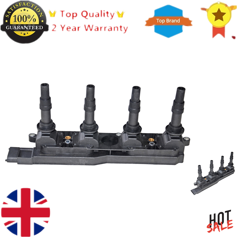 New Ignition Coil Pack For Opel Astra G Corsa C Meriva Signum Vectra B C Zafira A 1.8 1.8i 16V 9119567 090536194 009119567