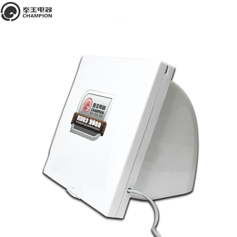 2018 Kitchen 10 Inches Ventilator Strong Pumping Fume Wall Window Type High Power Household Exhaust Fan 12 inches ventilator pipeline exhaust fan strong kitchen oil exhaust wall type square ventilator 300mm