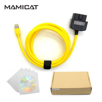 MAMICAT For BMW ENET Cable Coding Ethernet To OBD Interface ESYS ICOM Coding Cable For F