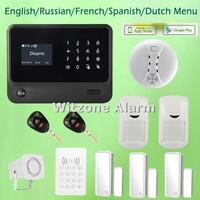 Two Way Intercom Smart Home Alarm System Android Ios App Control G90B Newest Version Wifi GSM