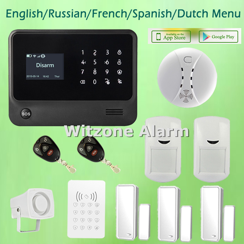 Фото Two way intercom smart home alarm system android ios app control G90B newest version Wifi GSM alarme systems, free shipping