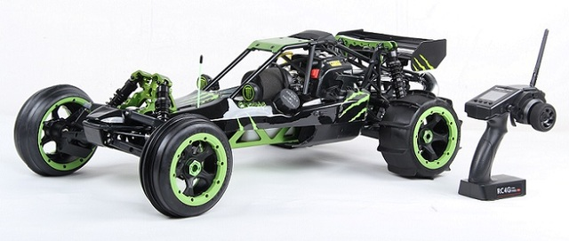 1/5 Scale Baja 5B 305AS with Desert Tire 30.5CC Engine Warbro668 NGK CMR7H