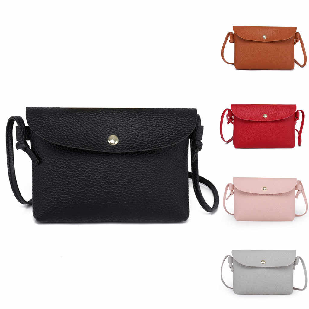 Bags For taschen women Leather Color Crossbody Shoulder Messenger Coin bag sac main femme borsa donna torebki damskie