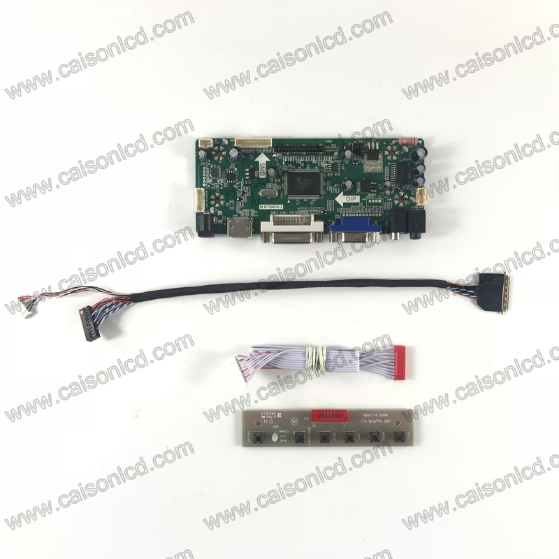 LCD controller board support HDMI DVI VGA AUDIO for 10.1 inch 1280x720 B101EW01 V0 V1 B101EW01 V2 B101EW02 V0 V1 LCD panel cn016 v0 touchscreen
