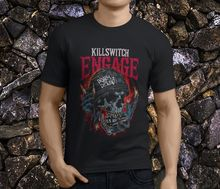 Fashion Black Cotton Crew Neck Broadcloth Short Mens Killswitch Engage The End Of Heartache Metal Band Men'S T Shirt killswitch engage warsaw