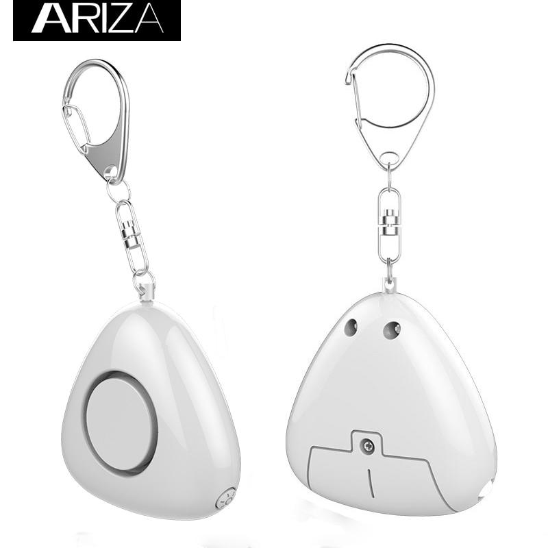Ariza Personal Alarm With 130Db Siren Personal Alarm Keychain Panic Alarm Emergency Security Keychain Alarm With LED Flashlight