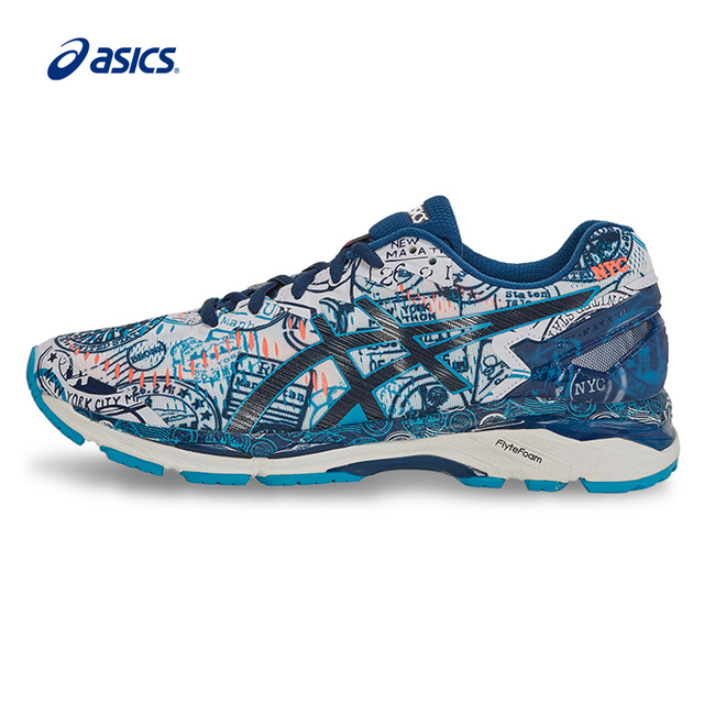 Original ASICS Men Shoes GEL-KAYANO 23 Breathable Cushion Running Shoes  Sports Shoes Sneakers outdoor men s tennis shoes classic f599a4f73b670