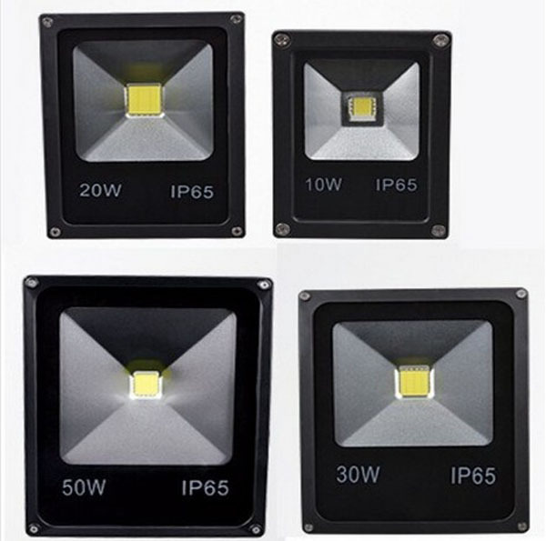 (10pcs/lot) 85-265V 10W 20W 30W 50W 70W 100W 120W 150W 200W Outdoor Flood Light Lamp Ip65 LED Exterieur Spot Garden Floodlight