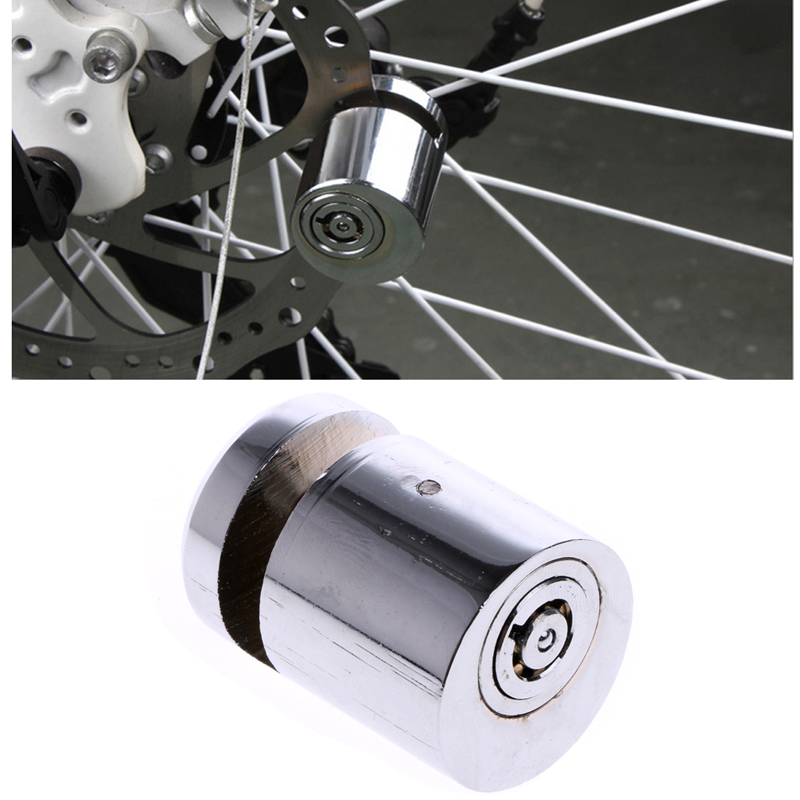 Security Anti-theft Motorcycle Bicycle Bike Moped Scooter Disk Brake Safety Lock
