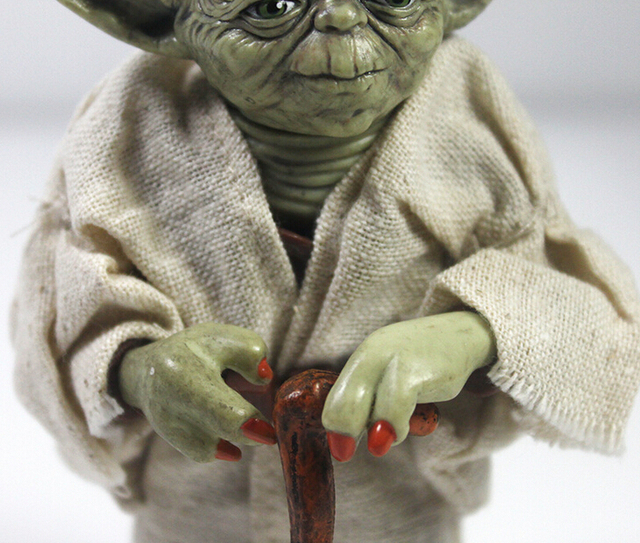 12cm Star Wars Jedi Knight Master Yoda Action Figure Collection