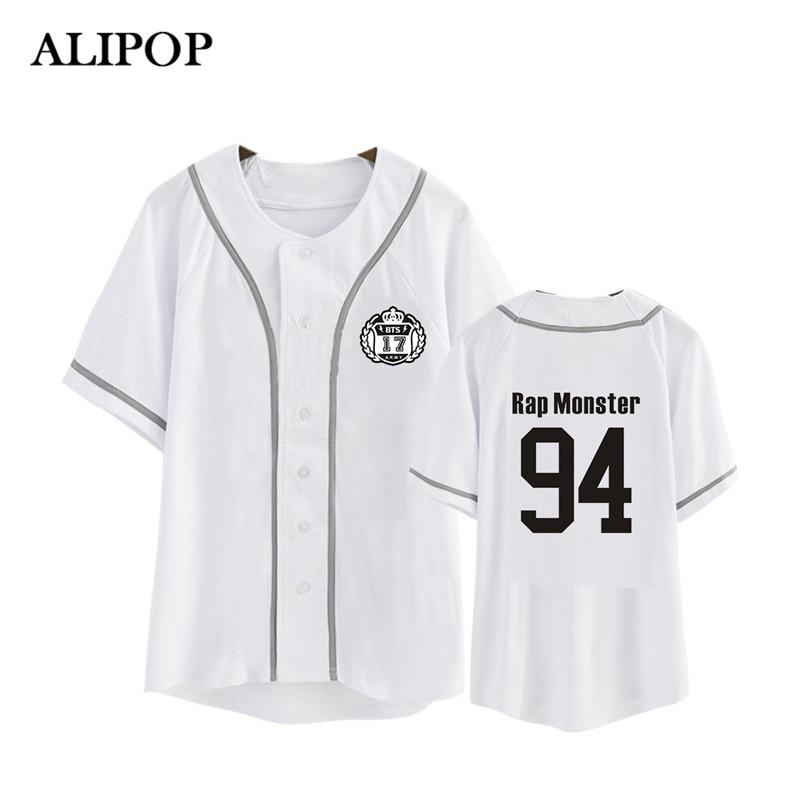 Kpop Korean BTS WINGS Album Blood Sweat &Tears Cotton Cardigan Tshirt K-POP Button T Shirts T-shirt Tops PT479
