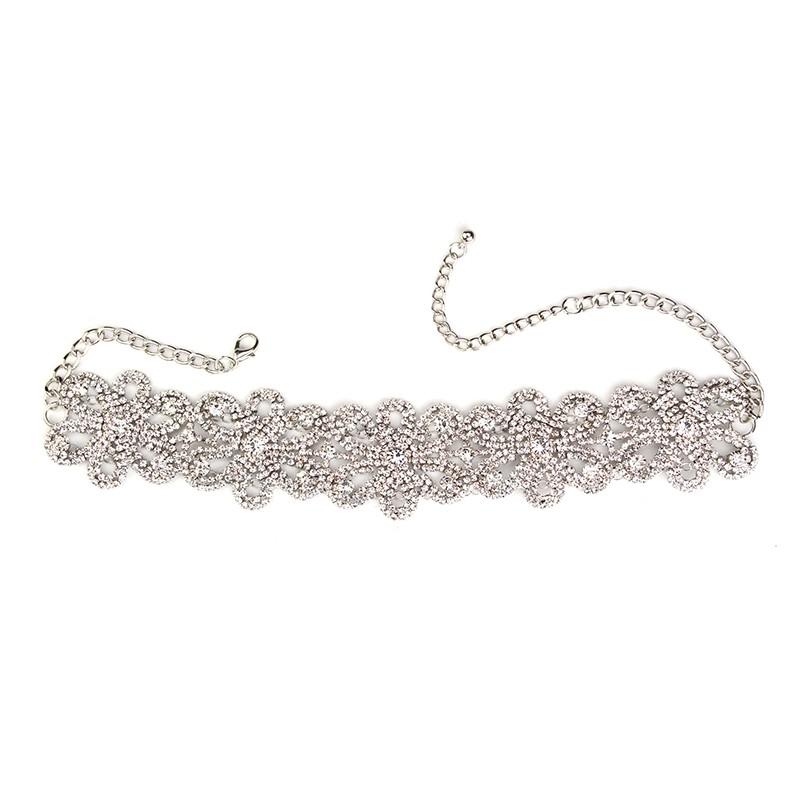 HTB1CsmwMVXXXXXQaXXXq6xXFXXXe Crystal Rhinestone Choker Necklace – Various Styles