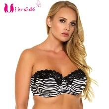 4f06641b2704b Mierside 2832 Women large bra plus size 36-44 D DD DDD Unerwire Sexy  strapless