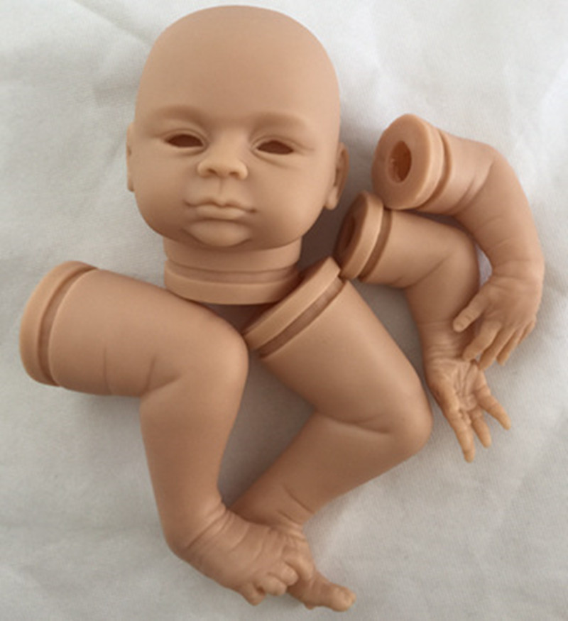 Reborn Doll Kits for 18inches Soft Vinyl Reborn Baby Dolls Accessories for DIY Realistic Toys for DIY Reborn Dolls Kits dk-82 good price reborn baby doll kits for 17 baby doll made by soft vinyl real touch 3 4 limbs unpainted blank doll diy reborn doll