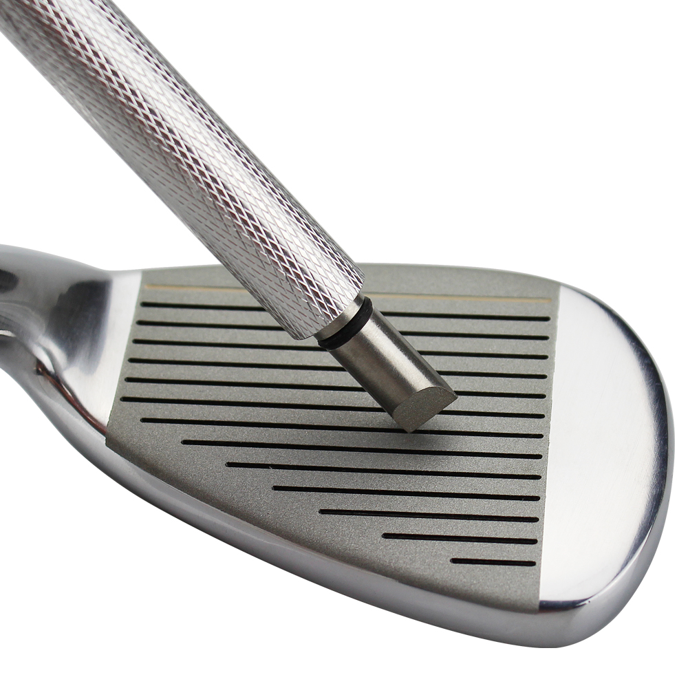 1pc Golf Wedge Iron Groove Sharpener Club Cleaner Cleaning Tool Square Golf Groove Cutter Tool Golf Training Aids 2