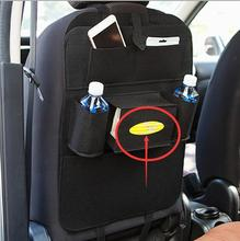 Dongzhen 1X Car Seat Storage Bag Hanging Box Seatback Organizer Protector Cover Multifunction Auto Holder