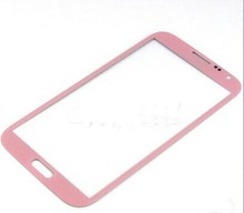 Front Glass For Samsung Galaxy Note 2 II N7100 Glass N7100 7105 Front Glass Outer Touch Screen Cover Lens Black,Whte,Grey,PInk