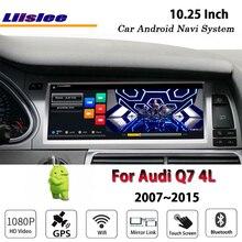 Liislee автомобиля Android 2G Оперативная память 32ROM для Audi Q7 4L 2007 ~ 2015 оригинальный стиль радио Carplay gps Navi карта навигации Системы мультимедиа