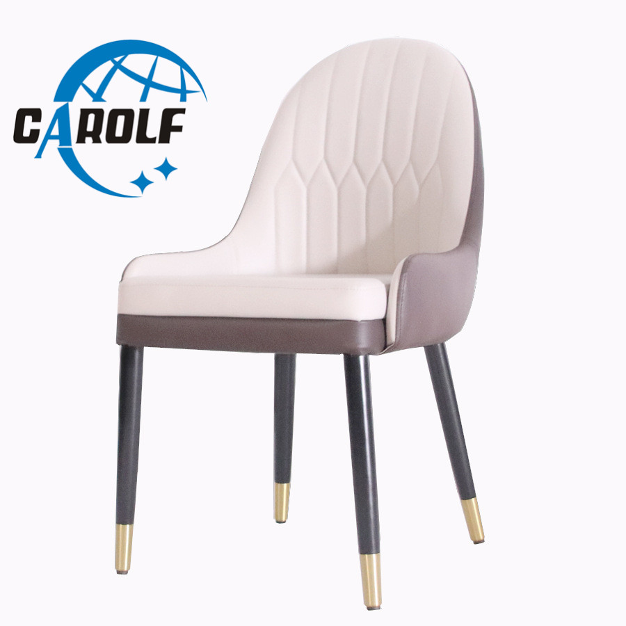 Nordique luxe dinant la chaise moderne légère de luxe simple café chaise d'hôtel