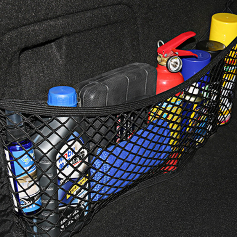 Car Trunk Mesh Organizer Storage Net OutdoorFor SEAT Altea Toledo MK1 MK2 Ibiza Cupra Leon Cupra For Skoda Fabia Rapid octavia-in Car Tax Disc Holders from Automobiles & Motorcycles