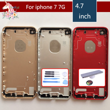 Original For iphone 7 7G case iphone 7 Plus body chassis full housing shell assembly battery cover replacement New Middle Frame allen bradley 1756 a7 b 1756a7 controllogix 7 slots chassis new and original 100