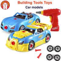 Juguetes para niños modelo de coche niños juguete construcción vehículo modelado carreras Rossi Kit Diecast coches con tornillo de luz de sonido para los niños