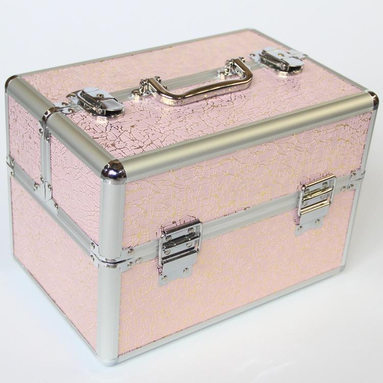 Portable Top Quality Jewelry Makeup Organizer Storage Box, Brand Fashion  Beauty Professional Cosmetics Case Women Makeup Boxes