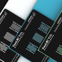Qinali 3D Универсальный BGA трафарет для iPhone Жесткий диск NAND ремонт Сварка шаблон олово завод стальная сетка