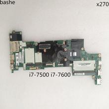 For Lenovo Thinkpad X270 i7-7500u i7-7600U laptop motherboard FRU: 01LW748 01LW750 100% free test free shipping