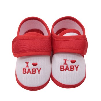 1 Pair 0-18M Cute  Baby Shoes Toddler First Walkers Cotton Soft Sole Skid-proof Kids 1