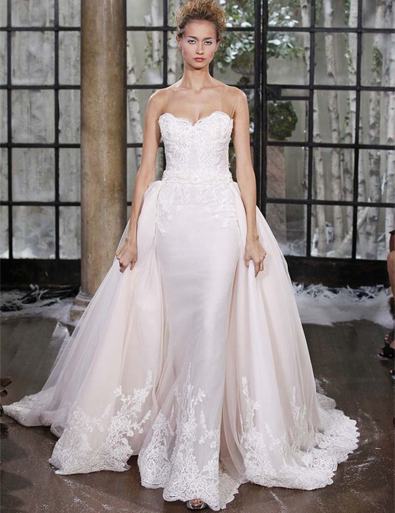 Aliexpress.com : Buy Vestido De Noiva Sereia Wedding Dress 2016 Lace ...