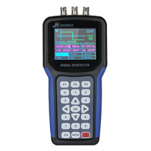 "mini Oscilloscoop 2 Channel Digital Signal Generator Portable Frequency Pulse generator Sweep Meter 30MHz Output 2CH 3.2"" TFT(China)"