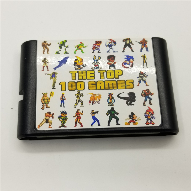 Newest Game Card for MD console 126 in 1 games cartridge for mega drive video game machine for sega 16 bit games Golden AXE
