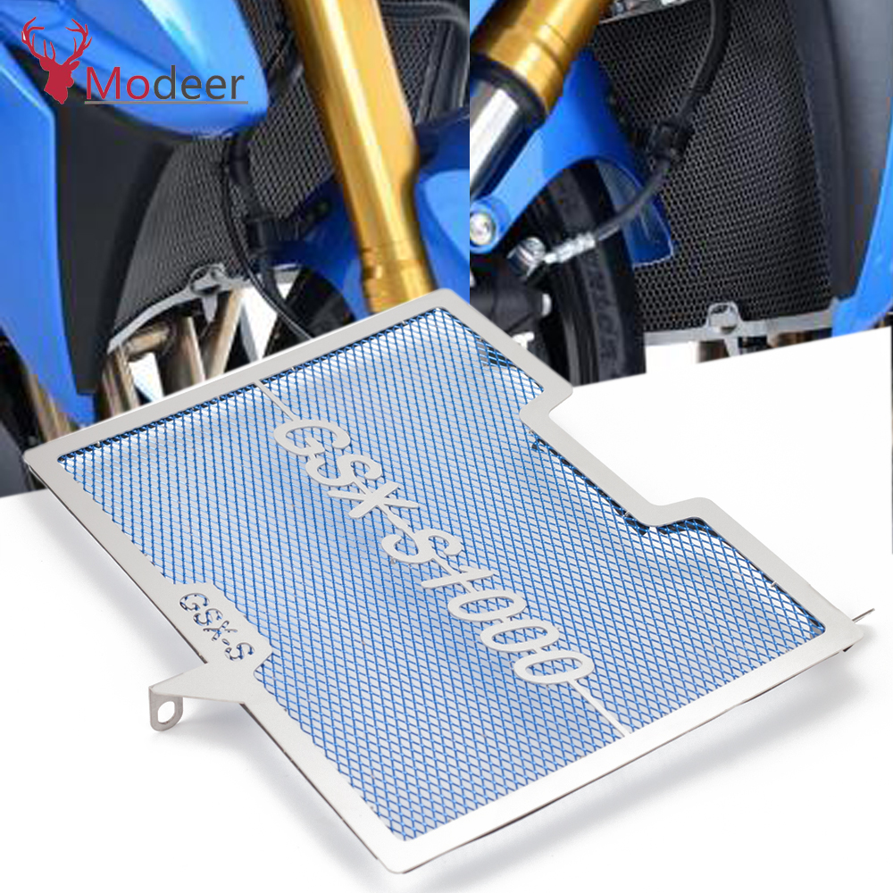 GSXS 1000 Motorcycle Accessories Radiator Grille Guard Cover Protector For SUZUKI GSX-S 1000 GSXS1000 GSX S1000 2015 2016 2017 image