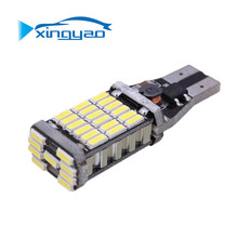 Auto LED Decoding reverse Lamp T15-4014-45SMD steering Light Brake High-brightness tail