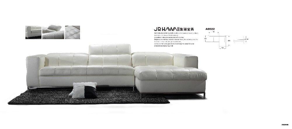 kavč iz pravega usnja kavč garnitura pohištva za dnevne sobe kavč - Pohištvo - Fotografija 2